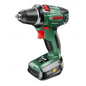 BOSCH PSR 14.4 LI-2 drill and screwdriver 2011 2.5Ah x2 Case Set1